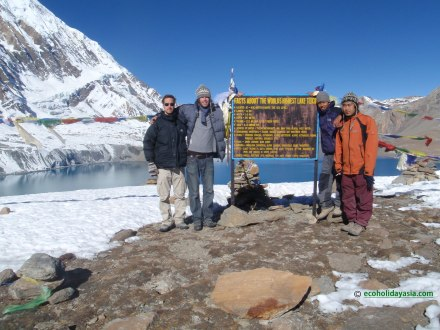 Annapurna Circuit tre with Rilicho Lake - Eco Holiday Asia