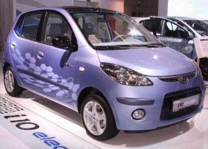 Indian Electric Car Hyundai i10 Electric