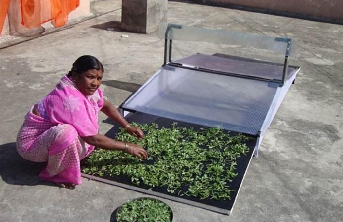 Solar-Conduction-Dryer-India