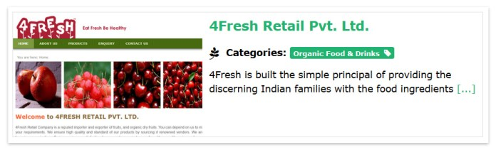Green Business India Free listing