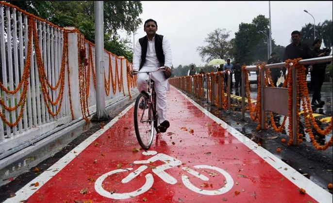 Cycle Tracks In Lucknow Boon Or Bane