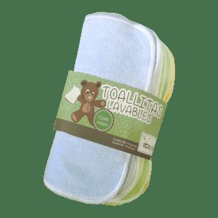 toallitas lavables ecopipo