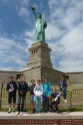 collège Eridan statue de la liberté