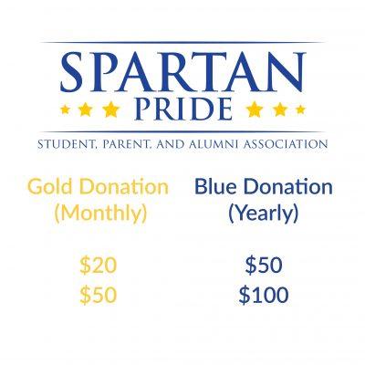 spartan pride donations