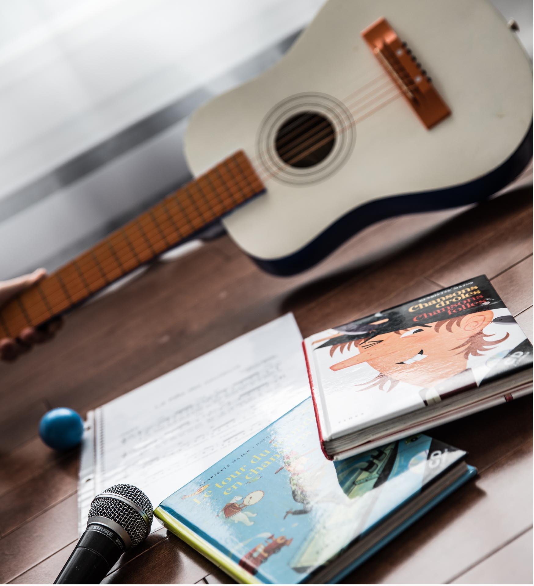 Chant et éveil à la musique