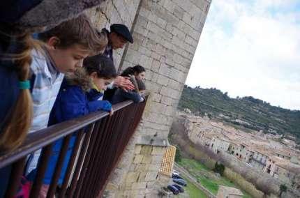 Du haut de la tour...