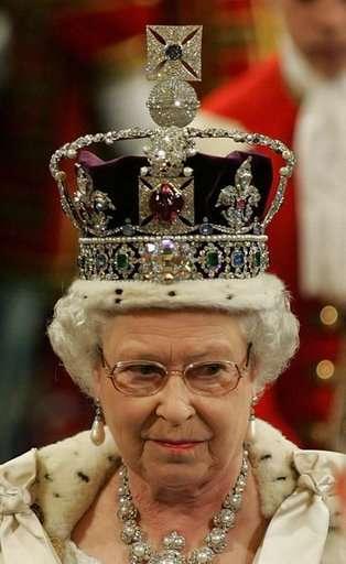 Couronne d'Elisabeth II