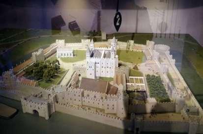 Maquette de la Tour de Londres