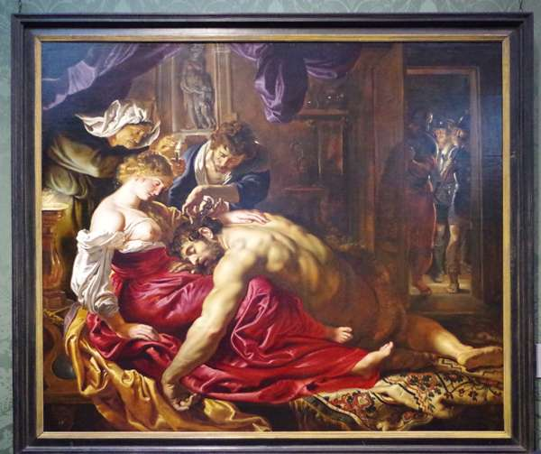 Mort de Sanson - Rubens