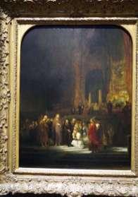 La femme adultère - Rembrandt