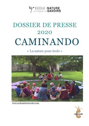 Dossier de presse Caminando printemps 2020