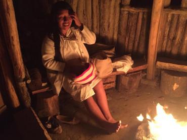 Kogi au coin du feu