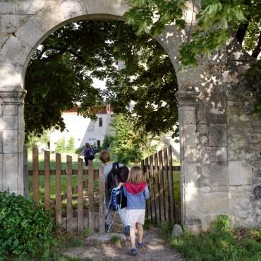 L'entrée de l'école