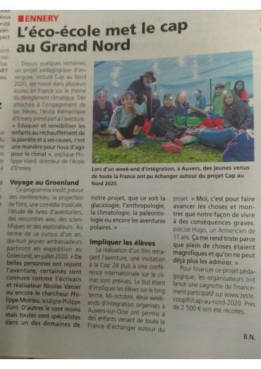 La gazette du Val d'Oise / 6 octobre 2019