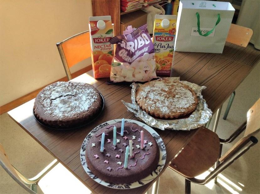 Ecole de Oytier St Oblas - Fête d'anniversaire à l'école