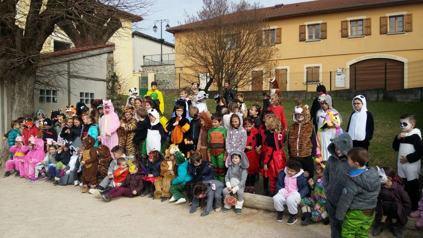 Carnaval Ecole Privée Oytier
