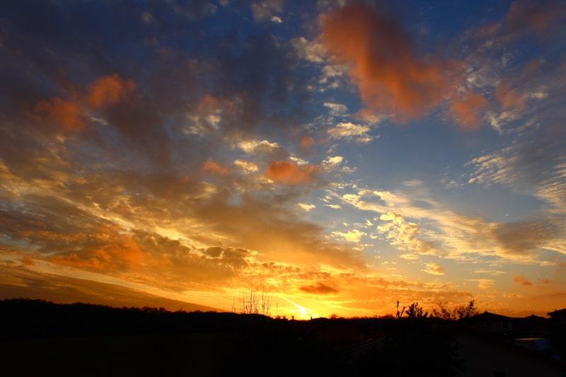 Le ciel et ses multitudes de couleurs