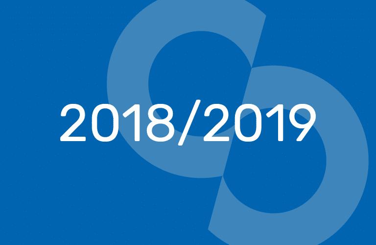 EER / EPR: organisation de l'année 2018 – 2019