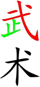Wushu-ideogramme