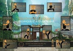 techniques et postures de base du Wushu - Ecole Wuxing Kung-Fu