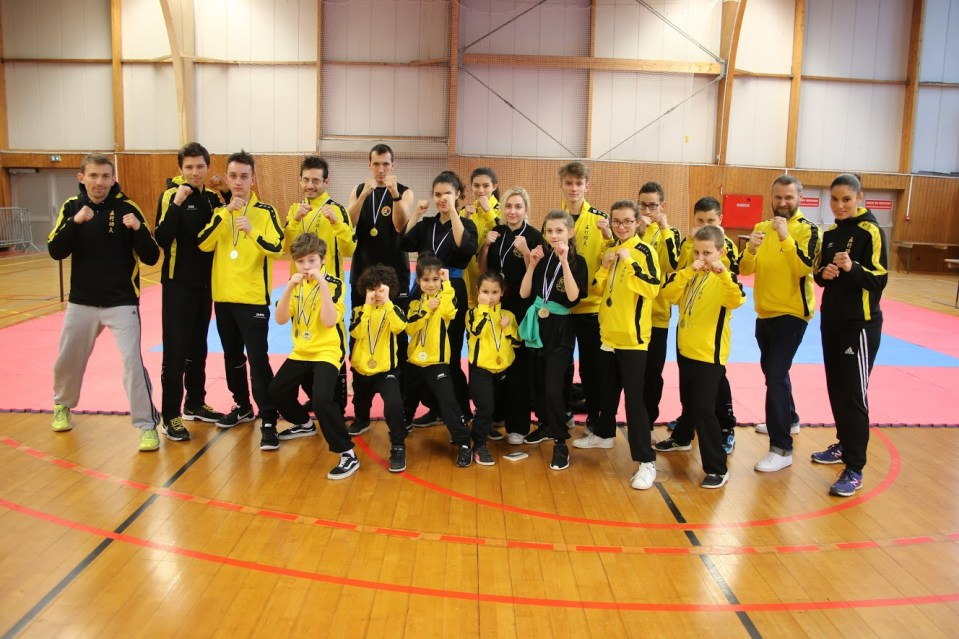 Coupe Grand Est WUshu 2018 Ecole Wuxing Kung-FU