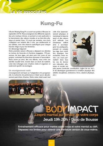 Bulletin municipal de Bousse - Ecole Wuxing Kung-Fu