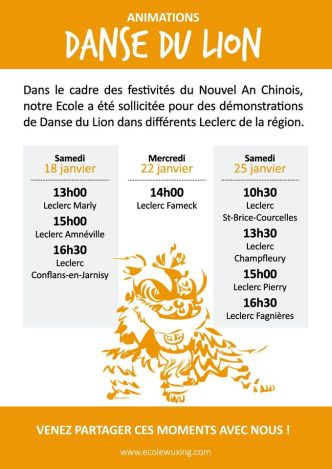 Animation Danse du Lion Leclerc 2020
