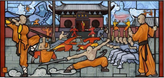 Organisation du cours Kung-Fu Adulte, thèmes et parcours