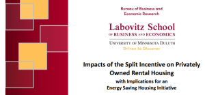 Energy Efficiency and Rental Housing Report
