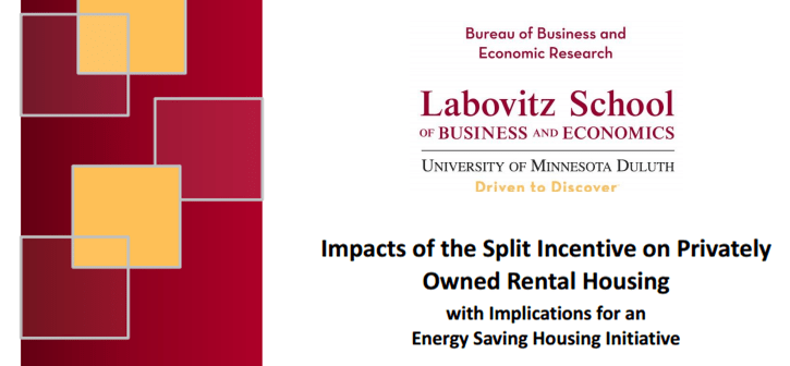 Impacts of the Split Incentive on Privately Owned Rental Housing graphic