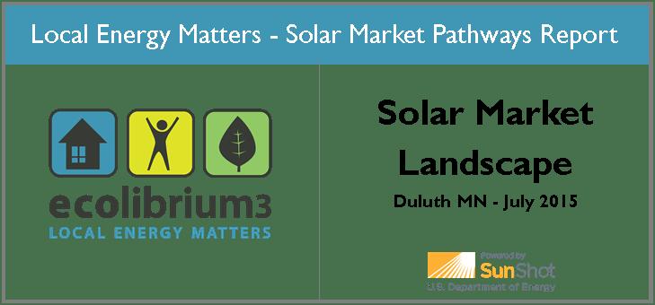 Solar Market Landscape graphic