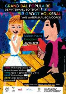 Bal populaire @ Maison Haute   Watermael-Boitsfort   Bruxelles   Belgique