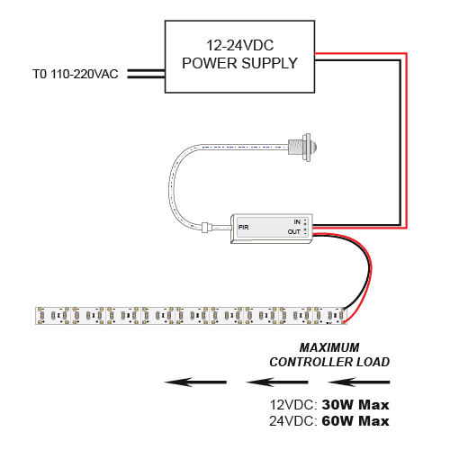 led with sensor wiring diagram 1970 plymouth duster wiring