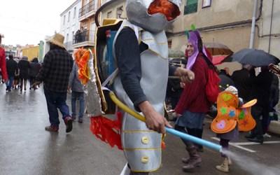 Carnaval Villar del Arzobispo 2014 contra los Agrotóxicos