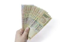 holding money