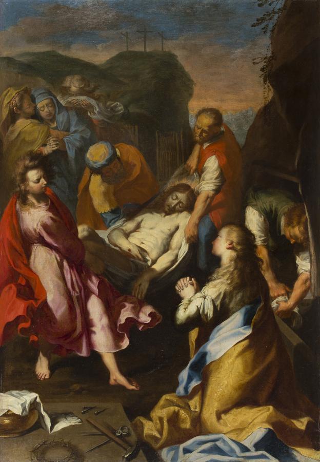 il senso del movimento a vortice di Federico Barocci