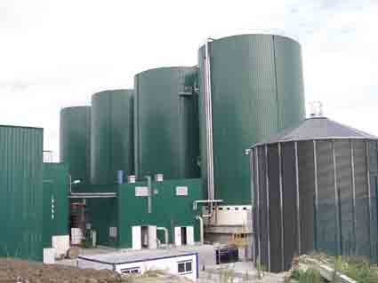 Working of a Modern Biogas Plant | EcoMENA