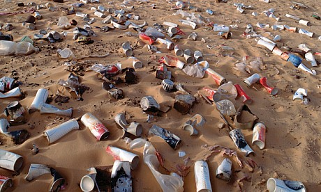 All About Beverage Container Waste