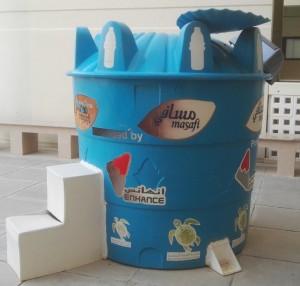 Plastic-recycling-bin-Oman