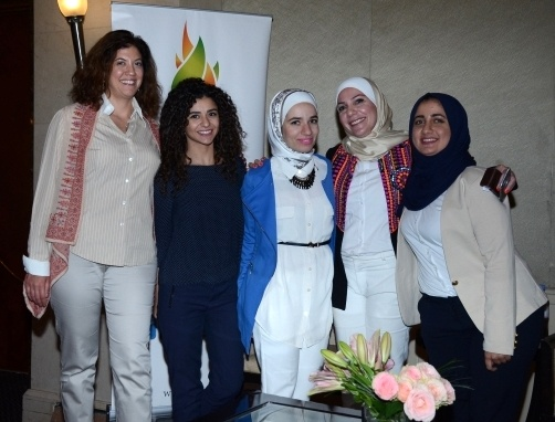 As a young leader, Ruba Al-Zu'bi inspires lots of youngsters in Jordan