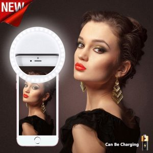 Selfie Ring Light for Iphone 36 LED Lamps Studio Vedio Photo Light Beauty Photography Lighting Lampa Macro & Ring Lights
