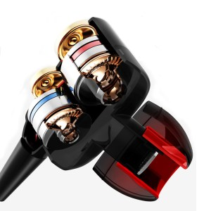 Double Unit Drive In-Ear Earphone Bass Subwoofer Earphone for phone DJ mp3 Sports Earphones Headset Earbud auricular