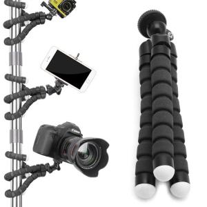 Flexible Octopus Gorillapod Tripod Stand Holder For Mini Camera Samsung iPhone X