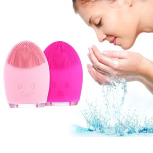 Mini Electric Facial Cleaning Massage Brush Washing Machine Waterproof Silicone Facial Cleansing Devices