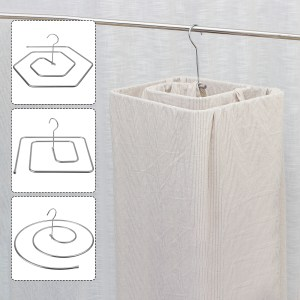 Multiple Shapes Laundry Rotating Drying Rack Sheets Cloth Hanger Stainless Steel