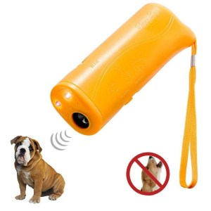 3 in 1 Anti Barking Stop Bark Dog Training Device Dog Training Repeller Control LED Ultrasonic Anti Bark Barking