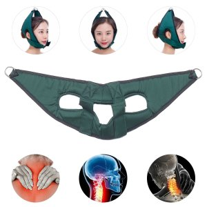Adjustable Relaxation Cervical Traction Belt Head Neck Shoulder Pain Relief