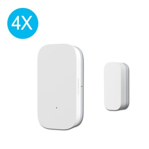 Original Aqara Zig.Bee Version Window Door Sensor Smart Home Kit Remote Alarm 1/2/3/4PCS