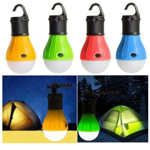 Hanging LED Outdoor Portable Camping Tent Light Bulb Fishing Lantern Lamp Torch Outdoor Accessories