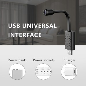 U21 HD Smart Mini Wifi USB Camera AI Human Detection Real-time Surveillance IP Camera
